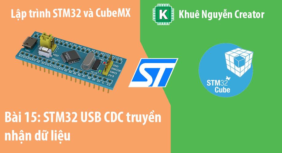 stm32 usb cdc